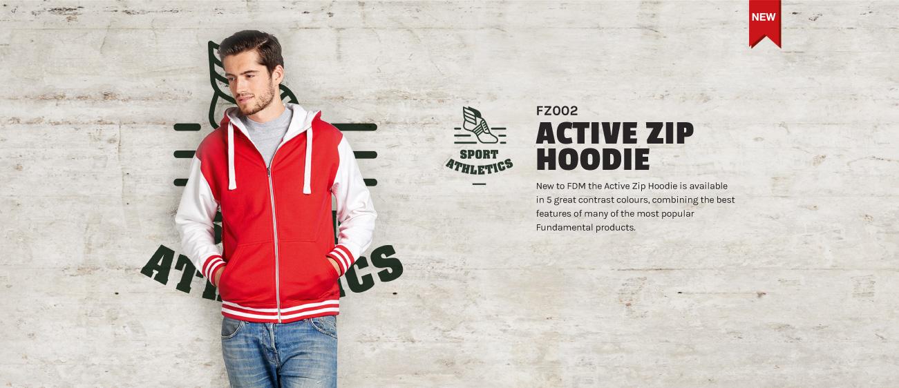 Active Zip Hoodie