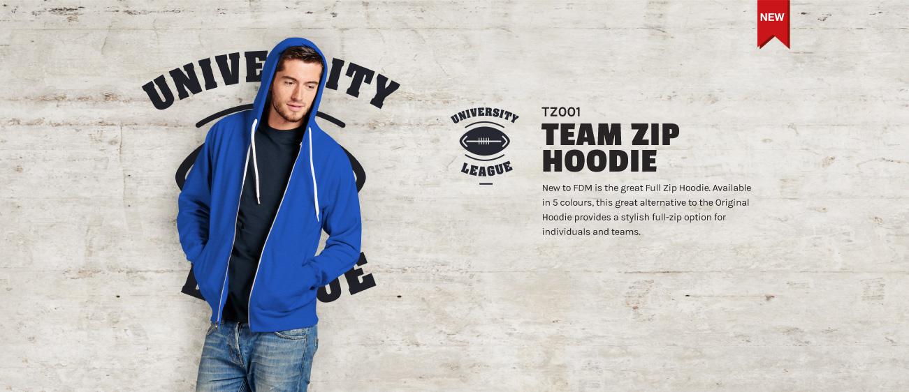 Team Zip Hoodie